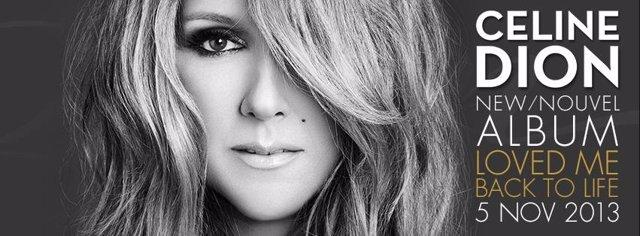 Celine Dion publicará nuevo álbum en noviembre