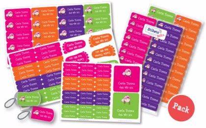 ¿Quieres un pack de etiquetas personalizadas Stikets para la vuelta al cole?