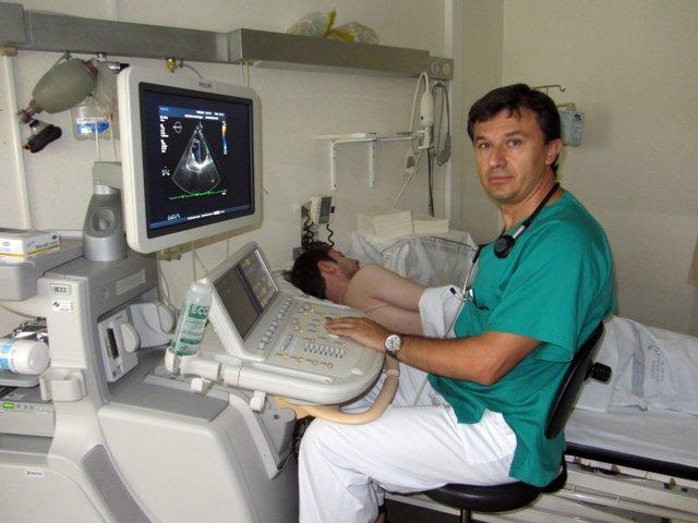 El doctor Pedro Morillas.