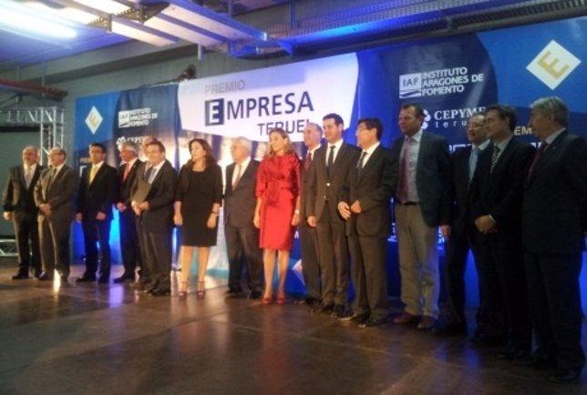 Premio Empresa Teruel 2013