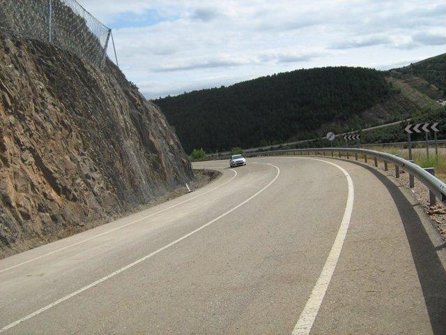 Carretera A-222 Montalbán-Hoz de la Vieja