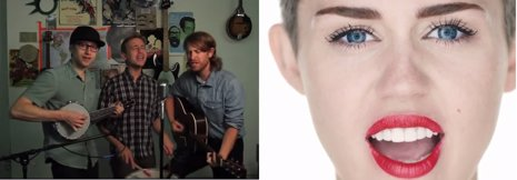 Versión de Wrecking Ball de Miley Cyrus por The Gregory Brothers
