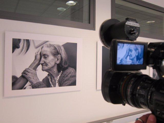Exposición 'El gesto como terapia' en el CRE del Alzheimer de Salamanca