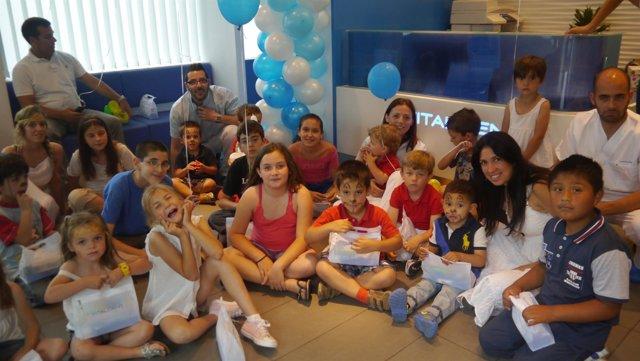 Imagen de las jornadas de salud bucodental infantil de la Fundación Vitaldent