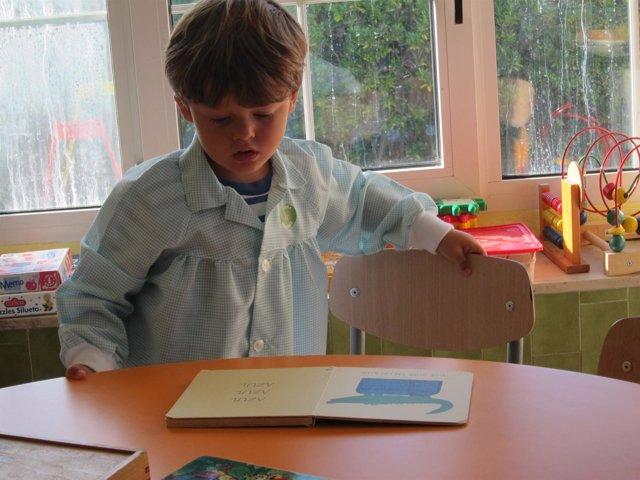 Alumnos, niños, escuela, clase, aula