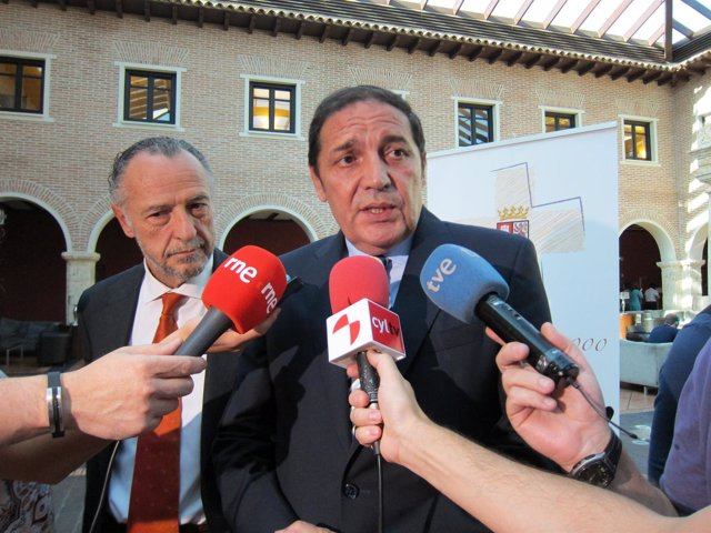 Antonio María Sáez Aguado, consejero de Sanidad de CyL.