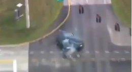 Imagen del accidente en Florida
