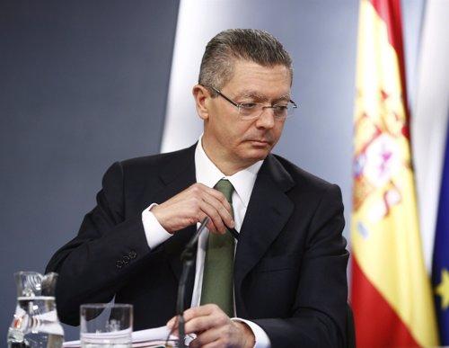 Gallardón explica la reforma del Código Penal