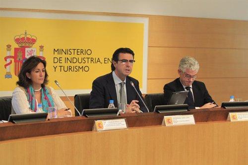 Ministro de Industria, José Manuel Soria