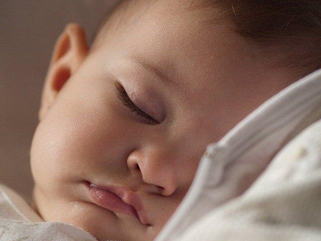 Bebé, dormir, durmiendo, dormido