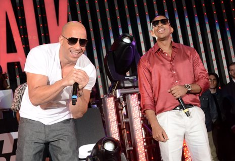 Ludacris comparte un vídeo del set de 'Fast & Furious 7'