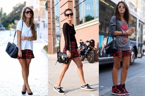 752ec1a7e Zara se marca otro tanto  La falda tartán más de moda para este  otoño-invierno