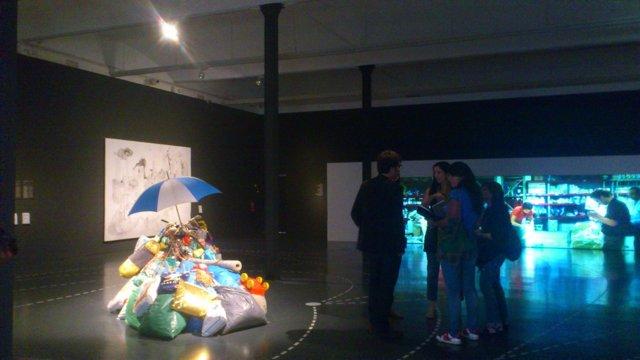 La exposición 'Arte ficción', en el CaixaForum