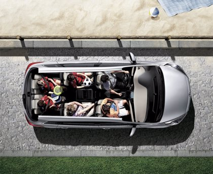 Kia Carens, ganador de 5 estrellas Euro NCAP 2013