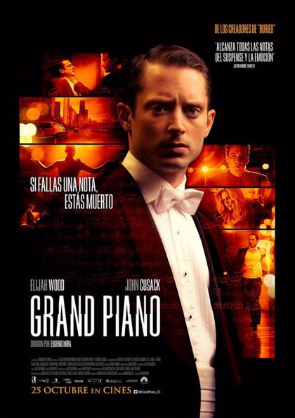 Nuevo póster de 'Grand Piano', con Elijah Wood