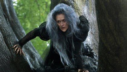 Meryl Streep irreconocible como la bruja de Disney