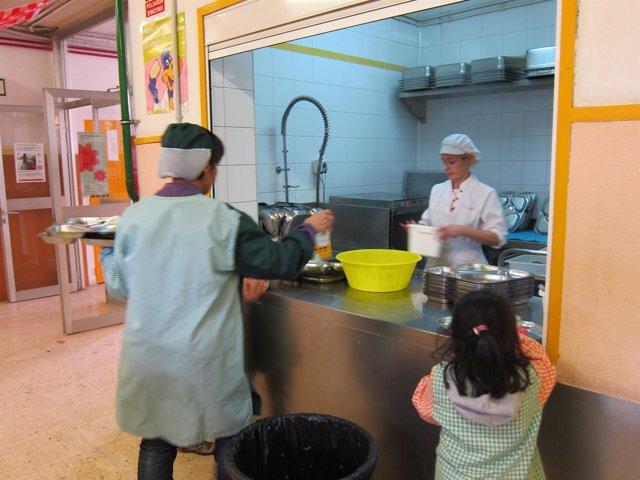 Crecen un 3,75% las becas de comedor en la Comunidad Valenciana