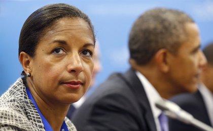 """Susan Rice dice que la conversación telefónica entre Obama y Rohani fue """"cordial y constructiva"""""""
