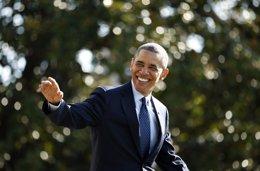 El presidente de Estados Unidos, Barack Obama, durante una salida de la Casa Bla