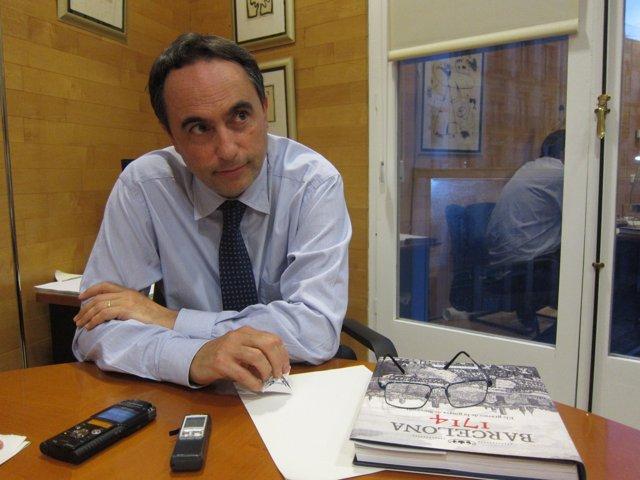 El teniente de alcalde de Cultura, Jaume Ciurana