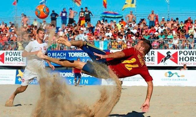 España fútbol playa Mundial Tahití