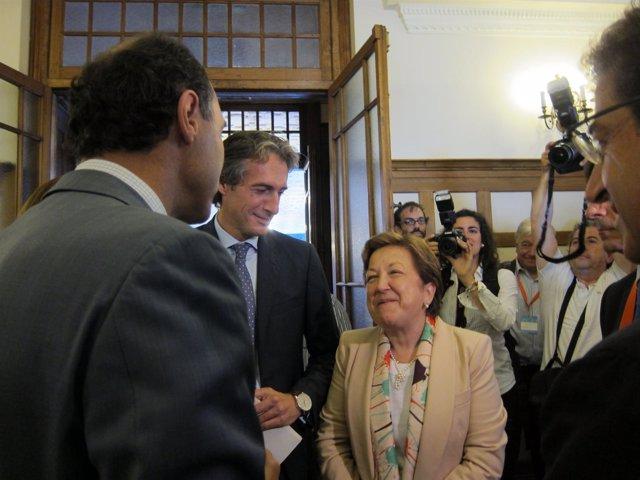 La secretaria general de Sanidad, Pilar Farjas, en Santander