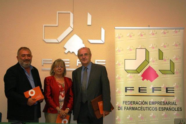Fernando Redondo, Isabel Vallejo, J.Manuel Ribera