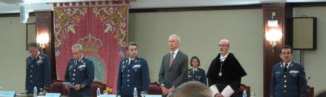 Morenés, en la inauguración del curso académico en la Academia General del Aire