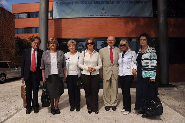 Visita Delegacion Serbia de enfermeros