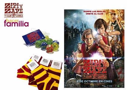 Llévate un pack de merchandising de ZIPI Y ZAPE Y EL CLUB DE LA CANICA con Hacer Familia