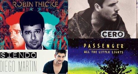 Amazon anuncia el top 10 de canciones, álbumes y descargas