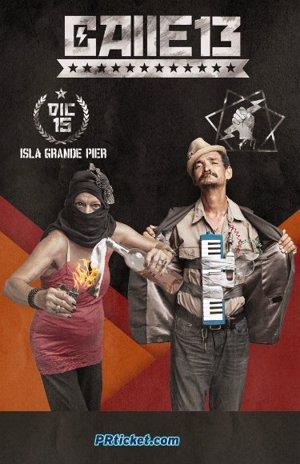 Cartel concierto Calle 13 San Juan
