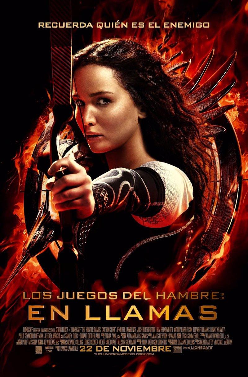 Jennifer Lawrence apunta (pero no dispara) en el cartel de Los juegos del hambre: En llamas