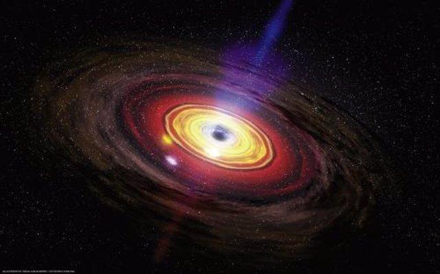 """Los agujeros negros tienen """"pelo"""", según un estudio"""
