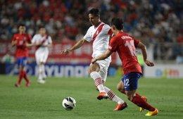 Selección de fútbol de Peru y South Korea