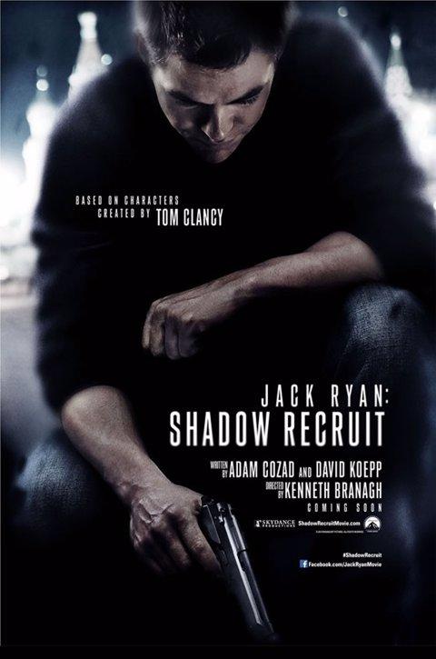 Chris Pine como Jack Ryan (Póster)