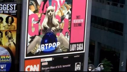 Lady Gaga revela la portada de su 'ARTPOP'