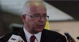 Rafael Ramírez, ministro de Petróleo de Venezuela