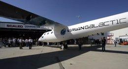 SpaceShipTwo Virgin