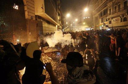 La violencia se desata en Brasil durante las protestas de profesores