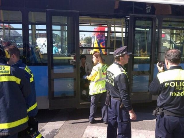 Atropello del autobús