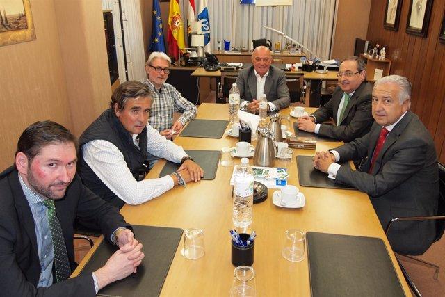 Reunión FER y Confederación Española Comercio