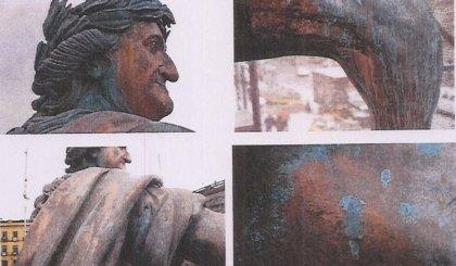 Una restauración de la escultura de Carlos IV en México causa daños irreversibles