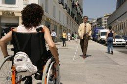 ONCE, personas con discapacidad