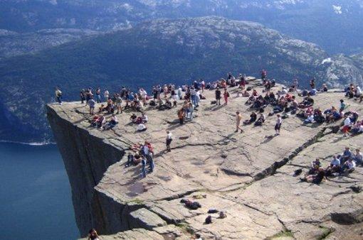 El Púlpito , atracción turística en Lysefjord