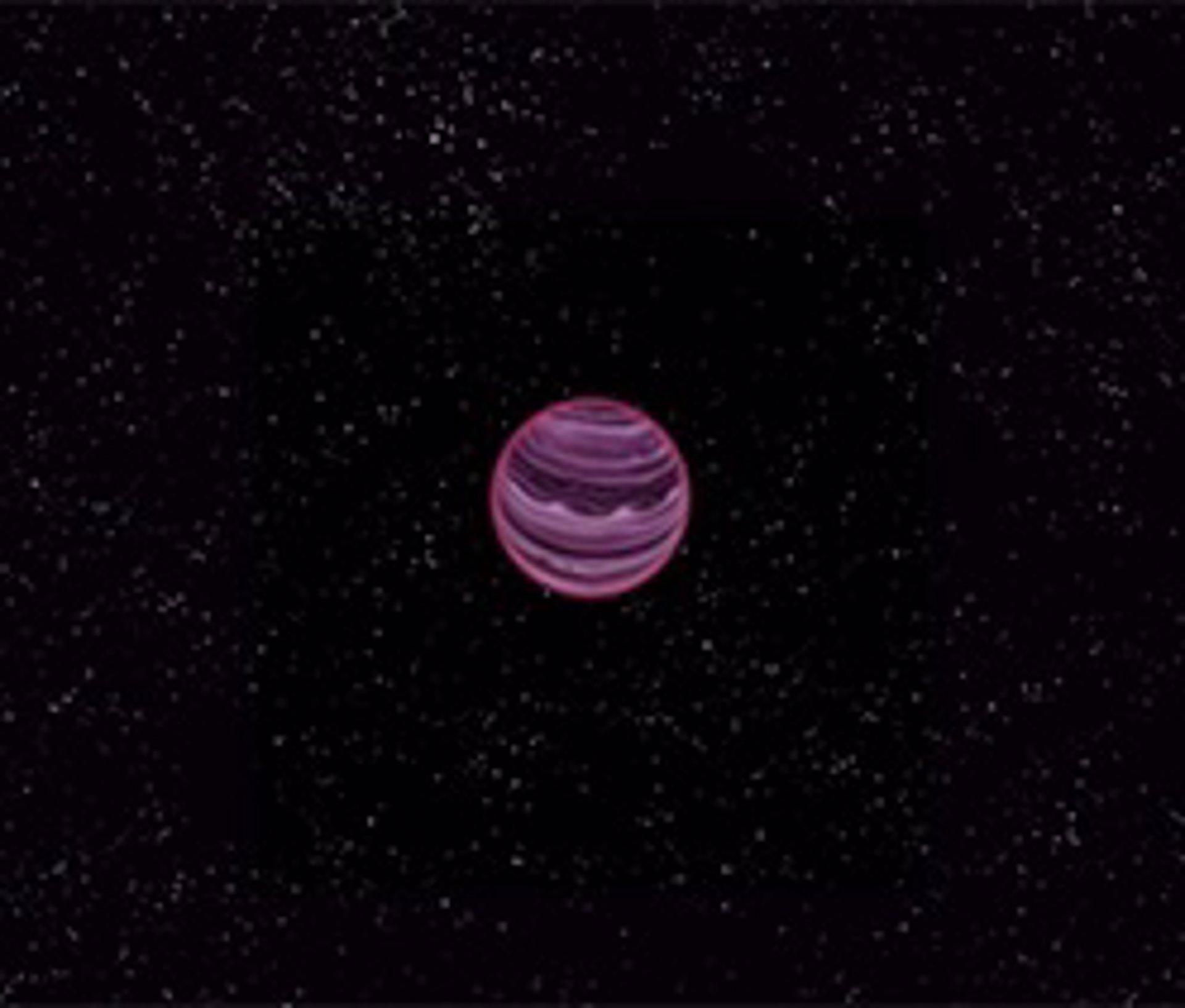 Hallan un extraño planeta que no orbita ninguna estrella