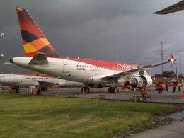 Aviones de Avianca