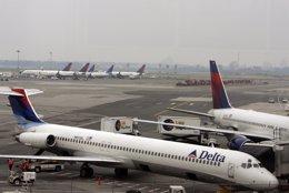 Delta en aeropuerto JFK
