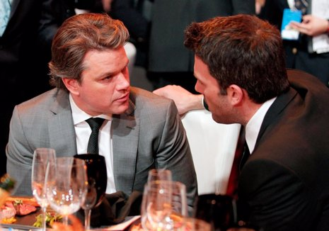 Matt Damon y Ben Affleck preparan 'More Time With Family'