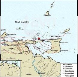 Seísmo en Venezuela